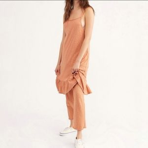 NEW Free People Dream Of You 2 pc set brick color